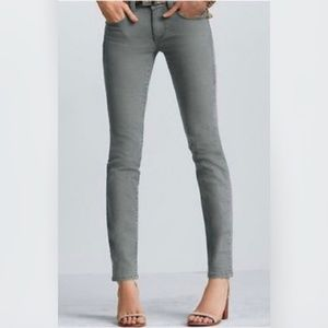 Cabi Jeans Style # 326 Gray Skinny Jean Denim sz 6
